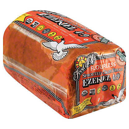 Food For Life Ezekiel 4:9 Sprouted 100% Whole Grain Bread,24.00 oz