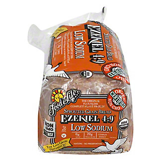 Food For Life Ezekiel 4:9 Sprouted Grain Low Sodium Bread, 24 oz