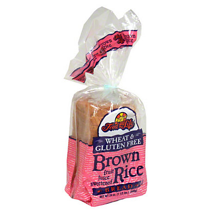 Food For Life Wheat & Gluten Free Brown Rice Bread, 24.00 oz