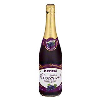 Kedem Sparkling Concord Grape Juice, 25.4 oz