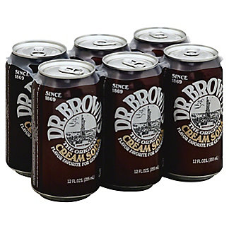 Dr Brown's Cream Soda,6 ct