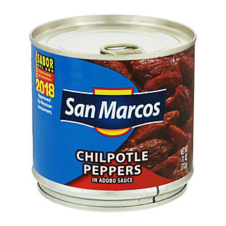 San Marcos Chilpotle Peppers In Adobo Sauce,11.00 oz