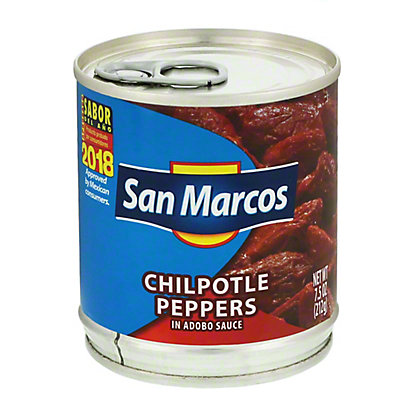 San Marcos Chilpotle Peppers In Adobo Sauce,7.5 OZ