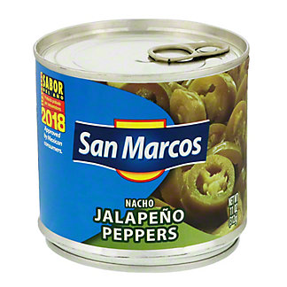 San Marcos Nacho Jalapeno Peppers, 11 oz