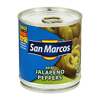 San Marcos Nacho Jalapeno Peppers,7 OZ
