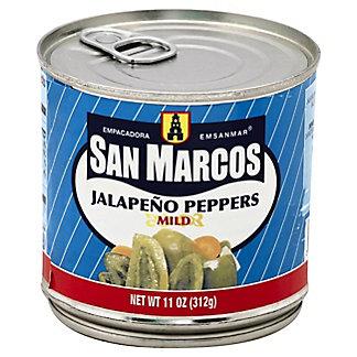 San Marcos Mild Jalapeno Peppers, 11 oz