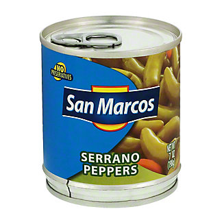 San Marcos Serrano Peppers,7 OZ