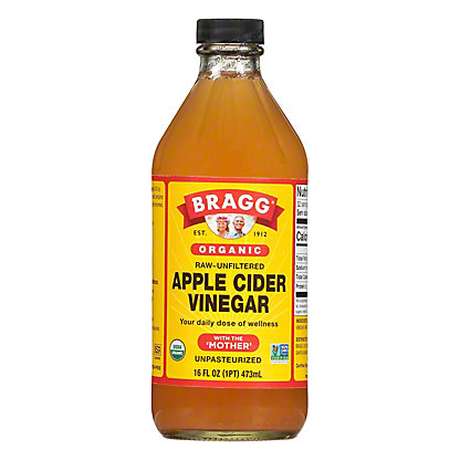 Bragg Organic Apple Cider Vinegar with The Mother, 16 oz
