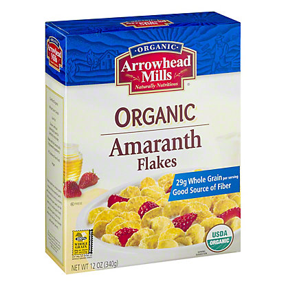 Arrowhead Mills Amaranth Flakes Cereal, 12 oz
