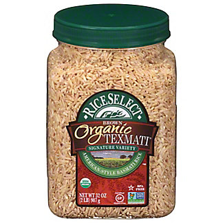 Rice Select Organic Texmati Brown Rice,32 OZ
