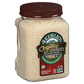 Rice Select Texmatic Organic Jasmati Rice,36.00 oz