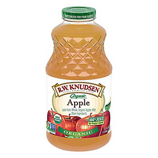 R.W. Knudsen Family Organic Apple Juice, 32 oz