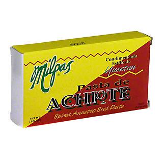 Milpas Pasta de Achiote Spiced Annatto Seed Paste,3.5 OZ