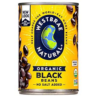 Westbrae Natural Organic Black Beans, 15 oz
