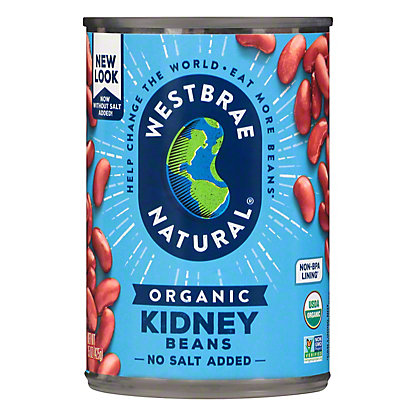 Westbrae Natural Organic No Salt Added Kidney Beans 15 Oz Central Market