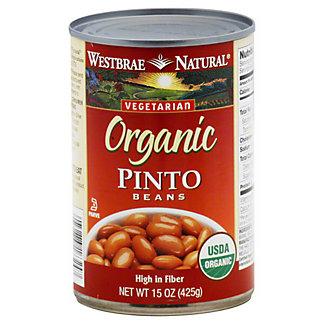 Westbrae Natural Organic Pinto Beans, 15 oz