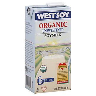 WestSoy Westsoy Unsweetened Plain Soy Beverage, 32 oz