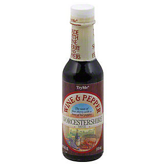 Try Me Wine and Pepper Worcestershire Sauce,5 OZ