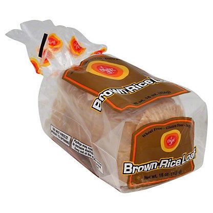 Ener-G Brown Rice Gluten Free Bread Loaf,16 OZ