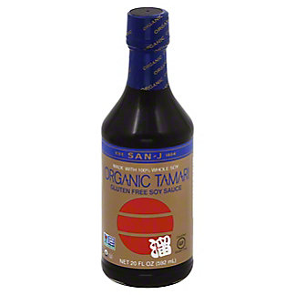 San J Wheat Free Tamari, 20 oz