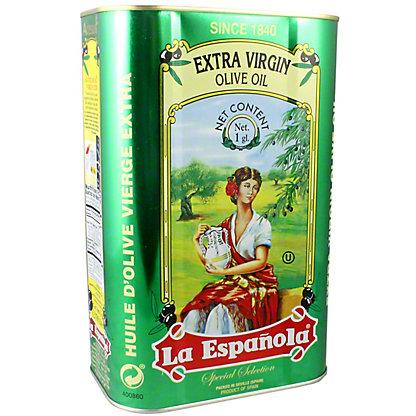 La Espanola Extra-Virgin Olive Oil Tin, 128 oz