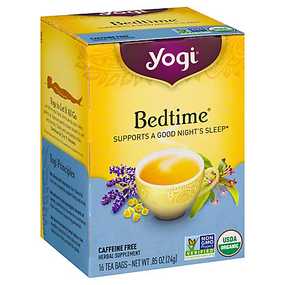 Yogi Yogi Bedtime Herbal Tea Bags,16 ct