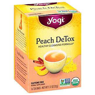 Yogi Yogi Peach DeTox Caffeine Free Tea Bags,16 ct