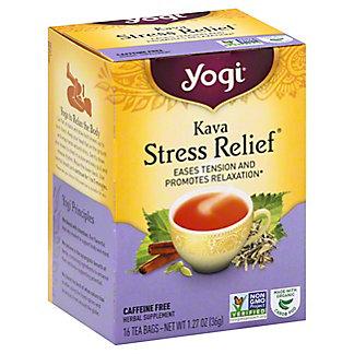 Yogi Kava Stress Relief Caffeine Free Tea Bags,16 ct
