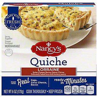 Nancy's Quiche Lorraine,6.00 oz