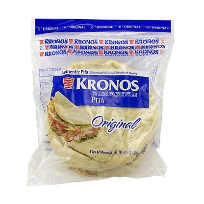 Kronos Original Pita,12.5 oz.