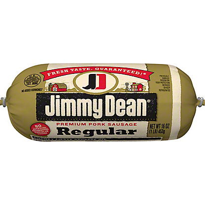Jimmy Dean Premium Regular Pork Sausage, 16 oz