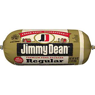 Jimmy Dean Premium Regular Pork Sausage, 16 oz