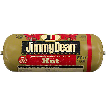 Jimmy Dean Premium Hot Pork Sausage, 16 oz