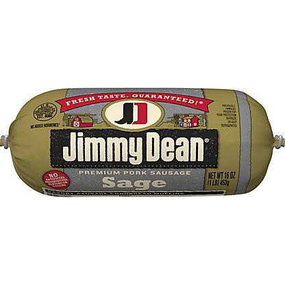 Jimmy Dean Premium Sage Pork Sausage,16 OZ