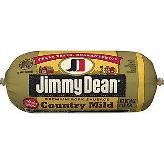 Jimmy Dean Country Mild Premium Pork Sausage,16 OZ