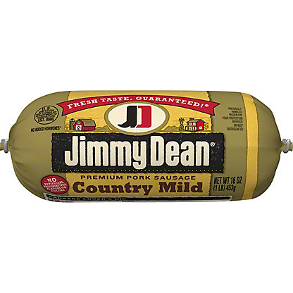 Jimmy Dean Country Mild Premium Pork Sausage,16 OZ