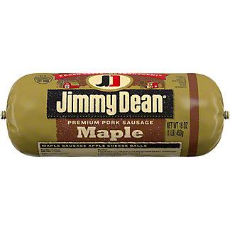 Jimmy Dean Premium Maple Pork Sausage,16 OZ