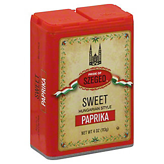 Pride of Szeged Hungarian Paprika,4 oz