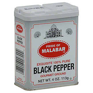 Pride Of Malabar Pride of Malabar Black Pepper,4 OZ
