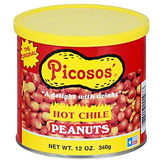 Picosos Hot Chili Peanuts,12 OZ
