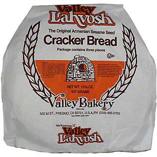 Valley Lahvosh Large White Crackerbread, 15.75 oz