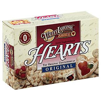 Valley Lahvosh Hearts Original Crackerbread, 4.50 oz