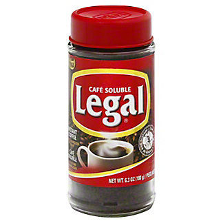 Cafe Soluble Legal Instant Coffee,7.00 oz