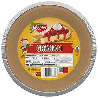 Keebler Ready Crust Graham Pie Crust, 6 oz