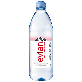 Evian Natural Spring Water, 1 L