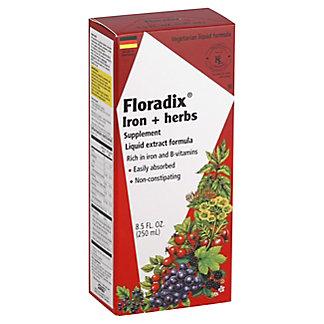Floradix Iron + Herbs Liquid Extract Formula, 8.5 oz