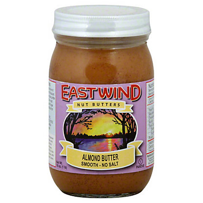 East Wind Nut Butters Smooth Almond Butter,16 OZ
