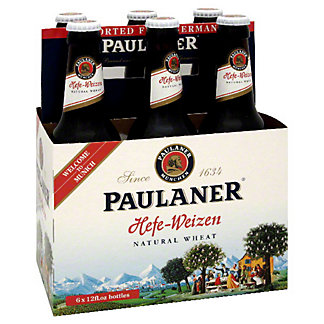 Paulaner Hefeweizen 6 PK Bottles,12 OZ