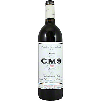 CMS Columbia Valley Red, 750 mL
