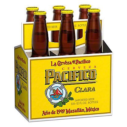 Pacifico Clara Beer 6 PK Bottles,12 OZ